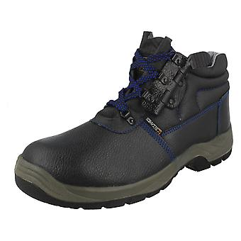 Mens Technics Lace Up Safety Boots H2 C101