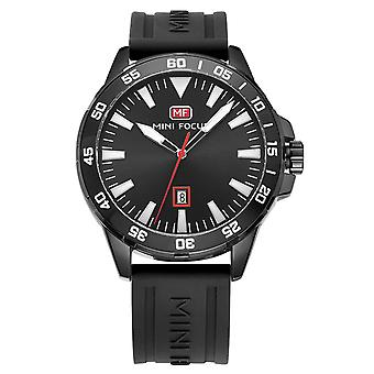 Mens Watch Black Red Boys Smart Analogue Watches White Present Mini Focus
