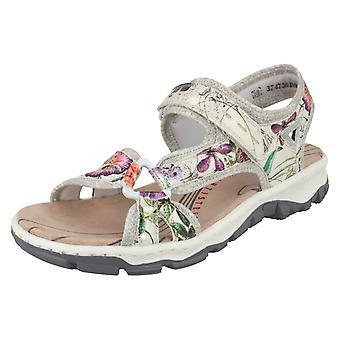 Damer Rieker Slingback sandaler 68879
