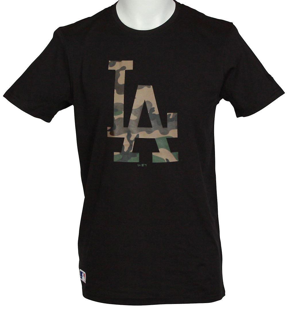 New Era Team Apparel Infill Logo T-Shirt ~ LA Dodgers