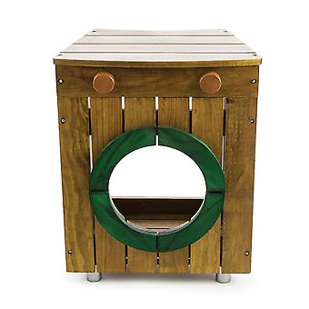 Tidlo Wooden Children's Outdoor Washing Machine Pretend Roleplay Toys