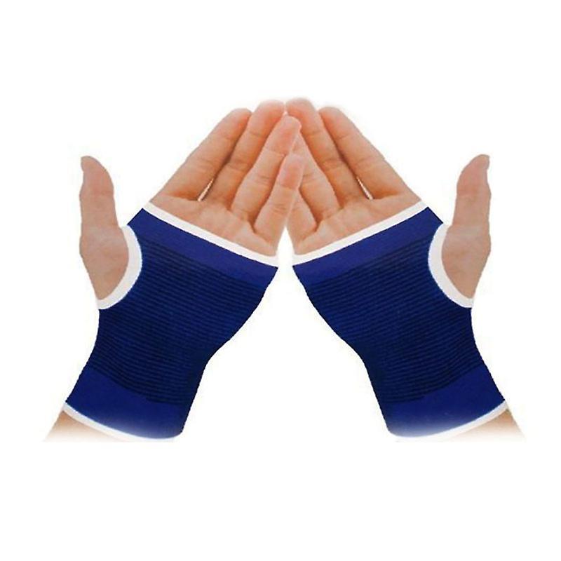 Elastische Handgelenkschützer/Handgelenkstützen (BLUE)