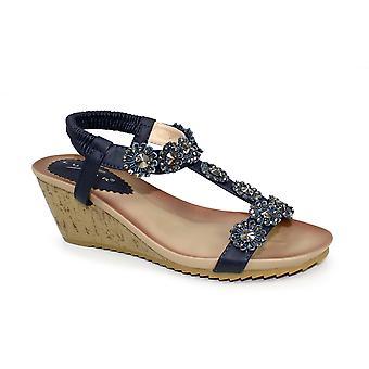 Lunare Cally Keil Sandale