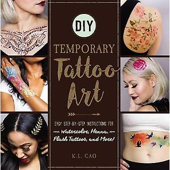 DIY Temporary Tattoo Art - Easy Step-by-Step Instructions for Watercol