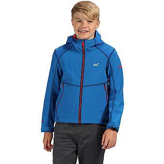 Regaty chłopców & dziewczyny kwasowości III kurtka Softshell z kapturem