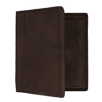 Strellson Norton Billford v8 mens wallet portemonnee portemonnee Brown 7337