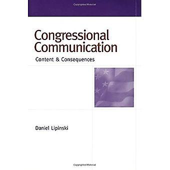 Congres mededeling: Inhoud en gevolgen