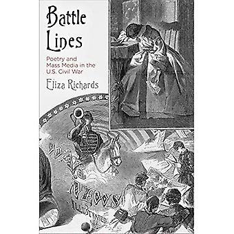 Líneas de batalla: La poesía y los medios de comunicación en la Guerra Civil de Estados Unidos