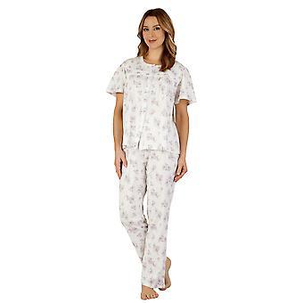 Slenderella PJ3109 Women's Cotton Jersey Pajama Pyjama Set