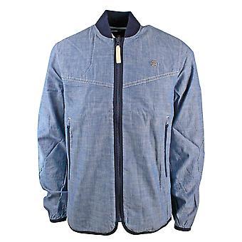 G-Star Setscale Overshirt L/S LT WT Blue Lockstart Chambray Rinsed Jacket