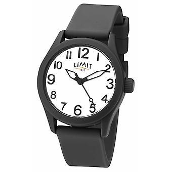 Limite | Cinturino in Silicone nero | Quadrante bianco | 5720 watch
