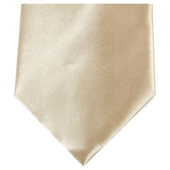 Knightsbridge Krawatten regelmäßige Polyester Krawatte - Dark Silver
