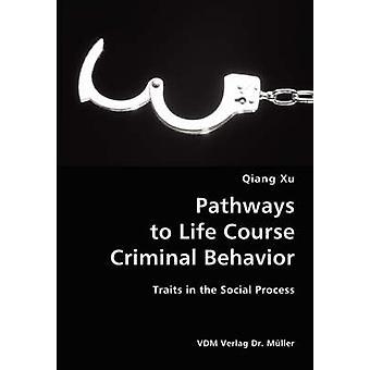 Senderos de vida curso rasgos de comportamiento Criminal en el proceso Social por Xu y Qiang