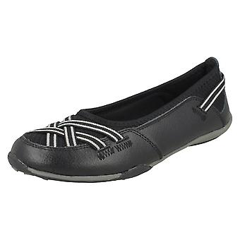 Ladies Down To Earth Flat Shoes