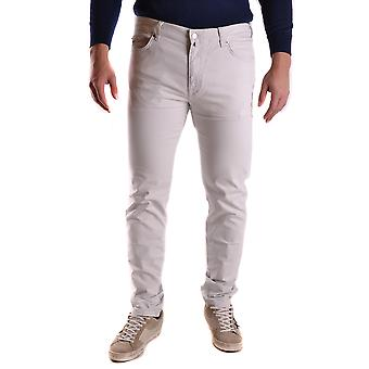 Gant Ezbc144032 Men's White Denim Jeans