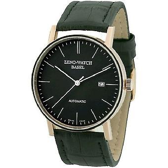 Zeno-horloge mens watch Bauhaus automatische 18 ct rood goud 4636-RG-i1