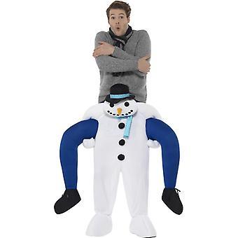 Piggyback Snowman Costume Huckepack Kostüm