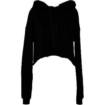 Cotton Addict Womens/Ladies Cropped Fleece Hoodie Sweatshirt