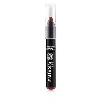 Lavera Natural Matt' N Stay Lips - # 03 Matt'n Red - 3.1g/0.11oz