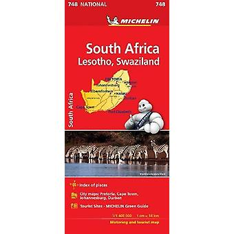 South Africa- Michelin National Map 748 - 2018 by  - 9782067229013 Book