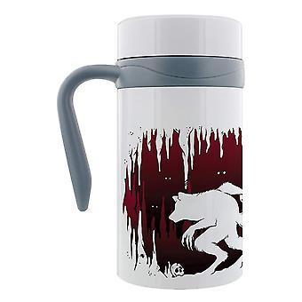 Grindstore Lone Wolf Thermal Travel Mug mit Handle