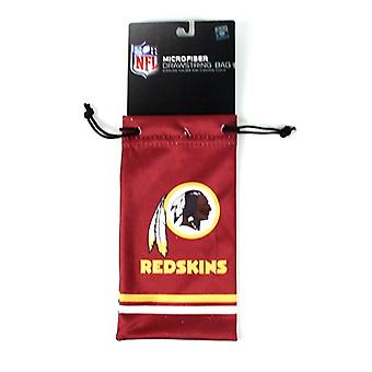 Washington Redskins NFL microfiber briller taske