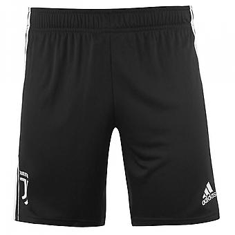 2019-2020 Juventus Adidas hem shorts (svart)