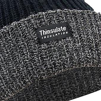 FLOSO Unisex Mens/Womens Thinsulate Heavy Knit Winter/Ski Thermal Hat (3M 40g)