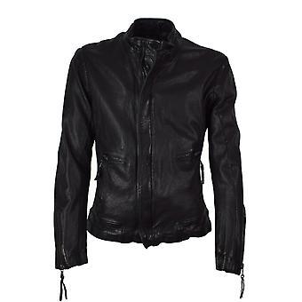 Men's leather jacket Miro