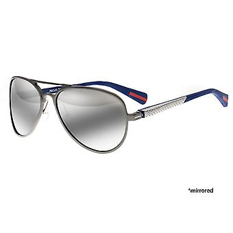 Breed Dorado Titanium Polarized Sunglasses - Gunmetal/Black