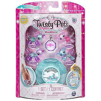 Twisty Petz Babies - Pinky & Binky Unicorn's, Dot & Dash Koala's