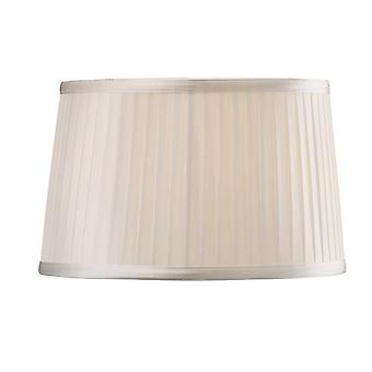Diyas Willow Fabric Shade White 260/300mm X 190mm
