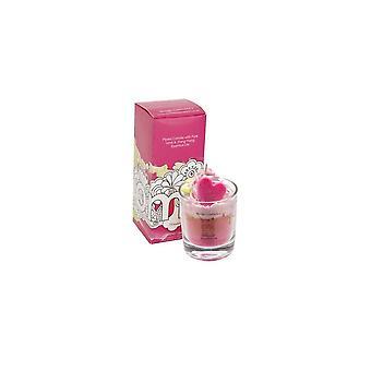 Bomb Cosmetics Piped Glass Candle - Strawberry Daiquiri