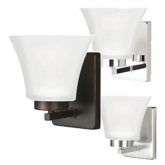 Sea Gull Lighting 4111601BLE 1 Light Wall / Bath Sconce Assorted Finishes