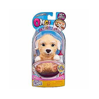 Kleine lebende Haustiere OMG Haustiere Pudel Welpen