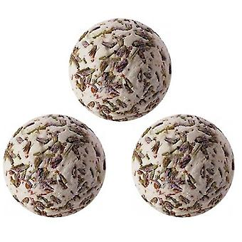 Lavendel Bad Creamers Geschenktasche von drei