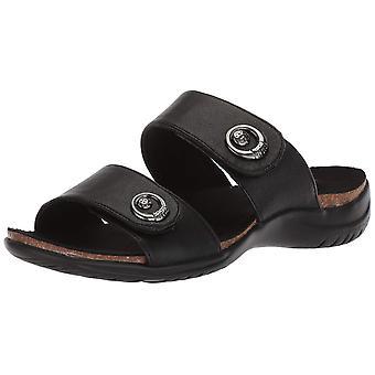 Easy Street Womens Dory Open Toe Casual Slide Sandals