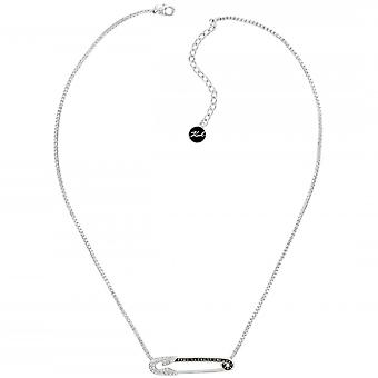 Karl Lagerfeld Woman Silver Plated Not Available Pendant Necklace 5420598