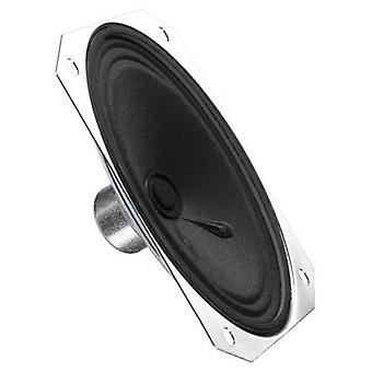 Monacor SP-170 1,2 inch 10,6 cm Mini speaker 1 W 8 Ω