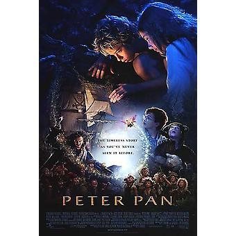 Peter Pan (dubbelzijdig regelmatig) (2003) originele Cinema poster