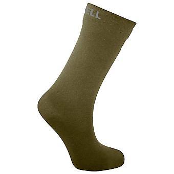 Dexshell Olive Ultra Thin Crew Sock