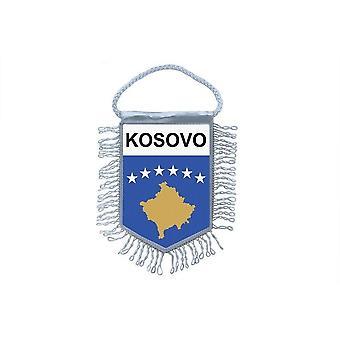 العلم مصغرة العلم البلد زخرفة السيارات كوسوفو كوسوفو