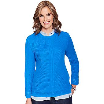 Amber Ladies Cotton Jumper
