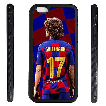 iPhone 6 6s shell Griezman rubber shell 7 Barcelona