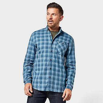 Neue Regatta Herren's Lazare kariert Shirt blau