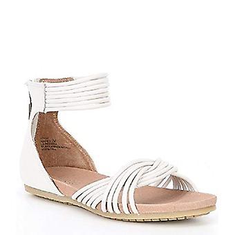 Adam Tucker Donne's Serene Nubuck Sandals Bianco