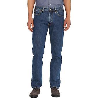 Levi's 501 Original Denim Jeans Stein waschen blau 50