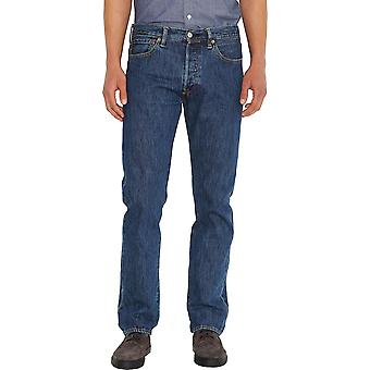Levi's 501 Original Denim Jeans Stone Wash Blue 50