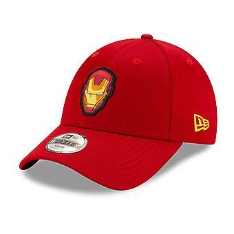 عصر جديد 9Forty الأطفال قبعة الطفل - الرجل الحديدي الأحمر