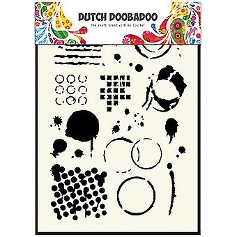 Dutch Doobadoo A5 Mask Art Stencil - Geometric Tiles #5035
